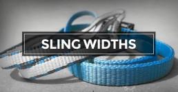 Sling Widths Header