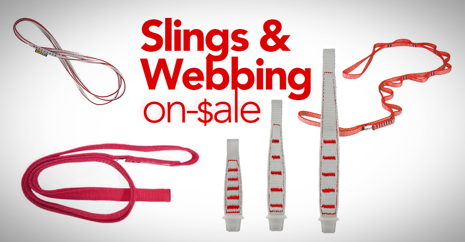 The Best Deals and Sales on Slings & Webbing