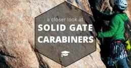 Solid Gate Carabiner header