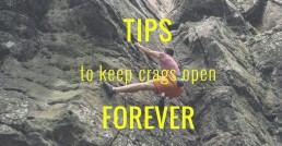 tips to keep crags open header