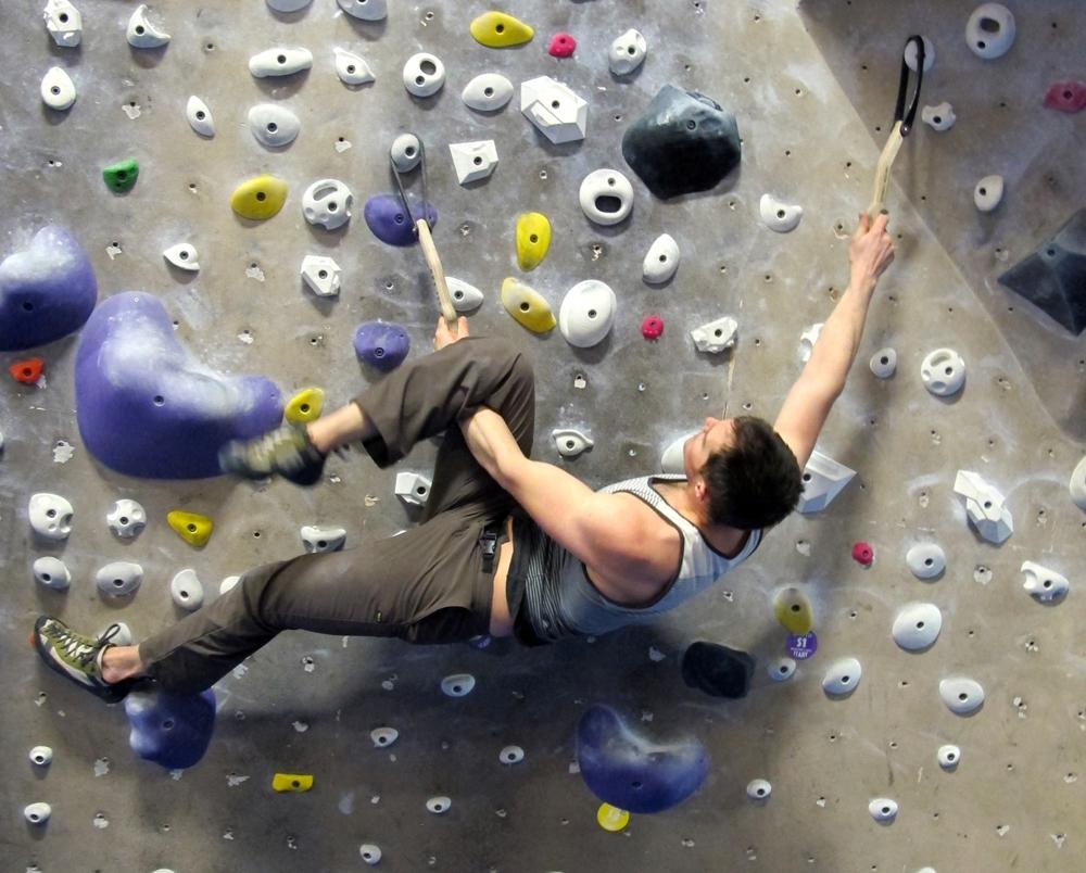 Figure 4 Bouldering Wall