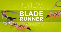 Review of the Cassin Blade Runner crampon
