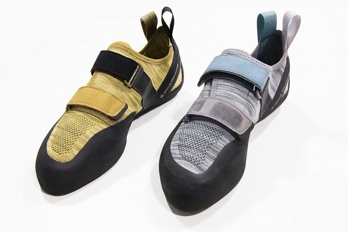 Black DIamond Momentum Velcro climbing shoes
