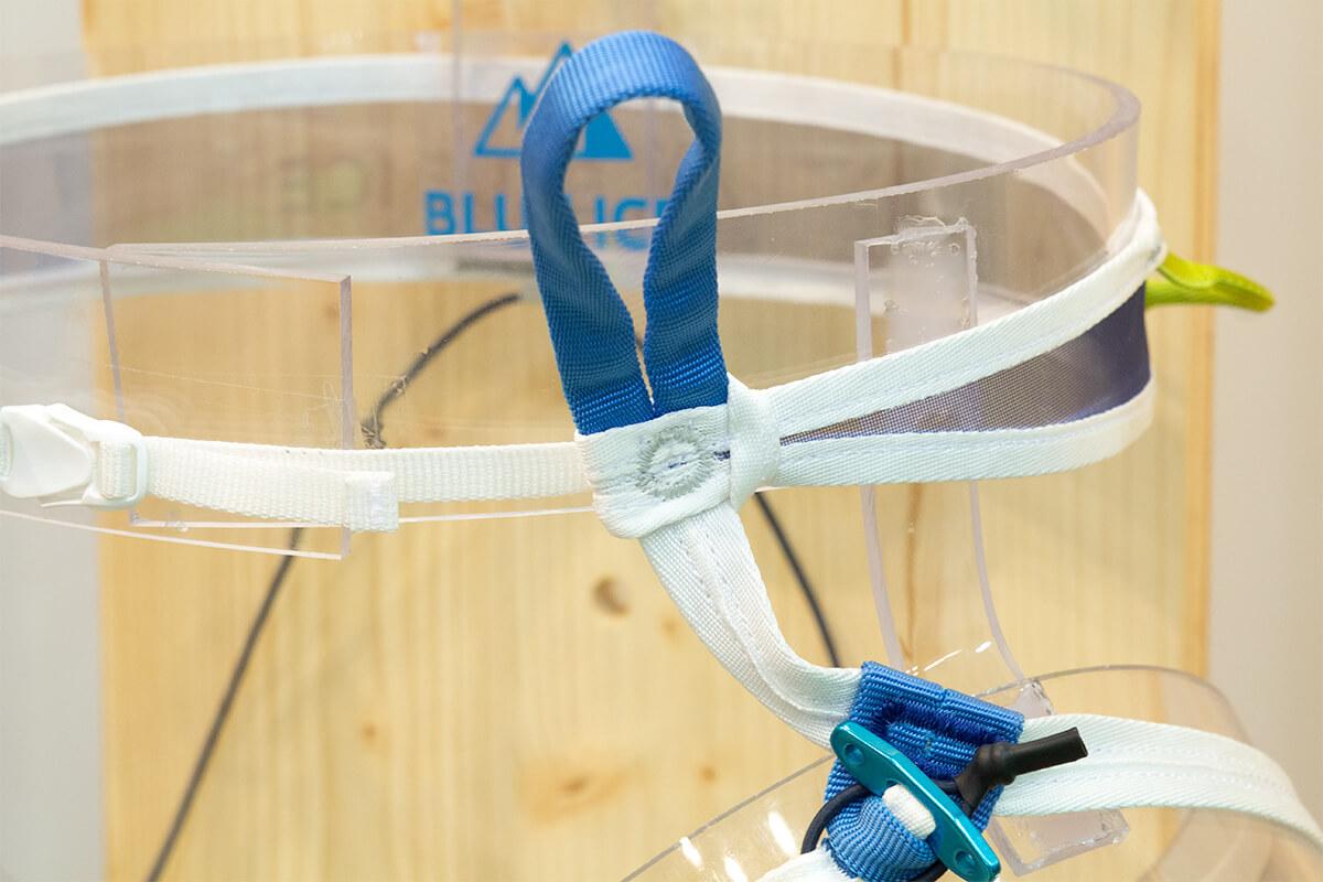 Choucas Light harness tie in loop closeup