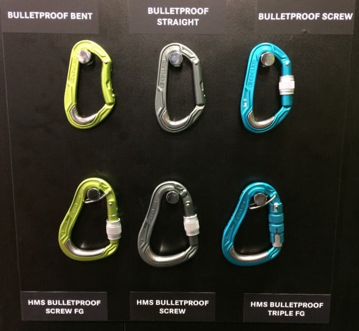 Edelrid Bulletproof locking carabiners