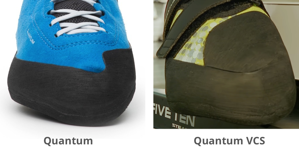 Five Ten Quantum Toepatch Comparison