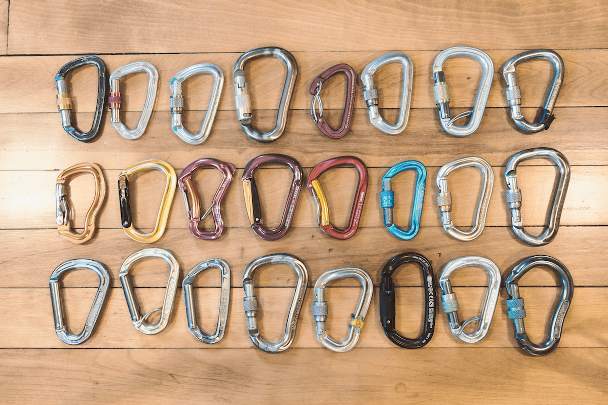 WMR Locking Carabiners