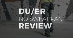 Duer No Sweat Pants Review