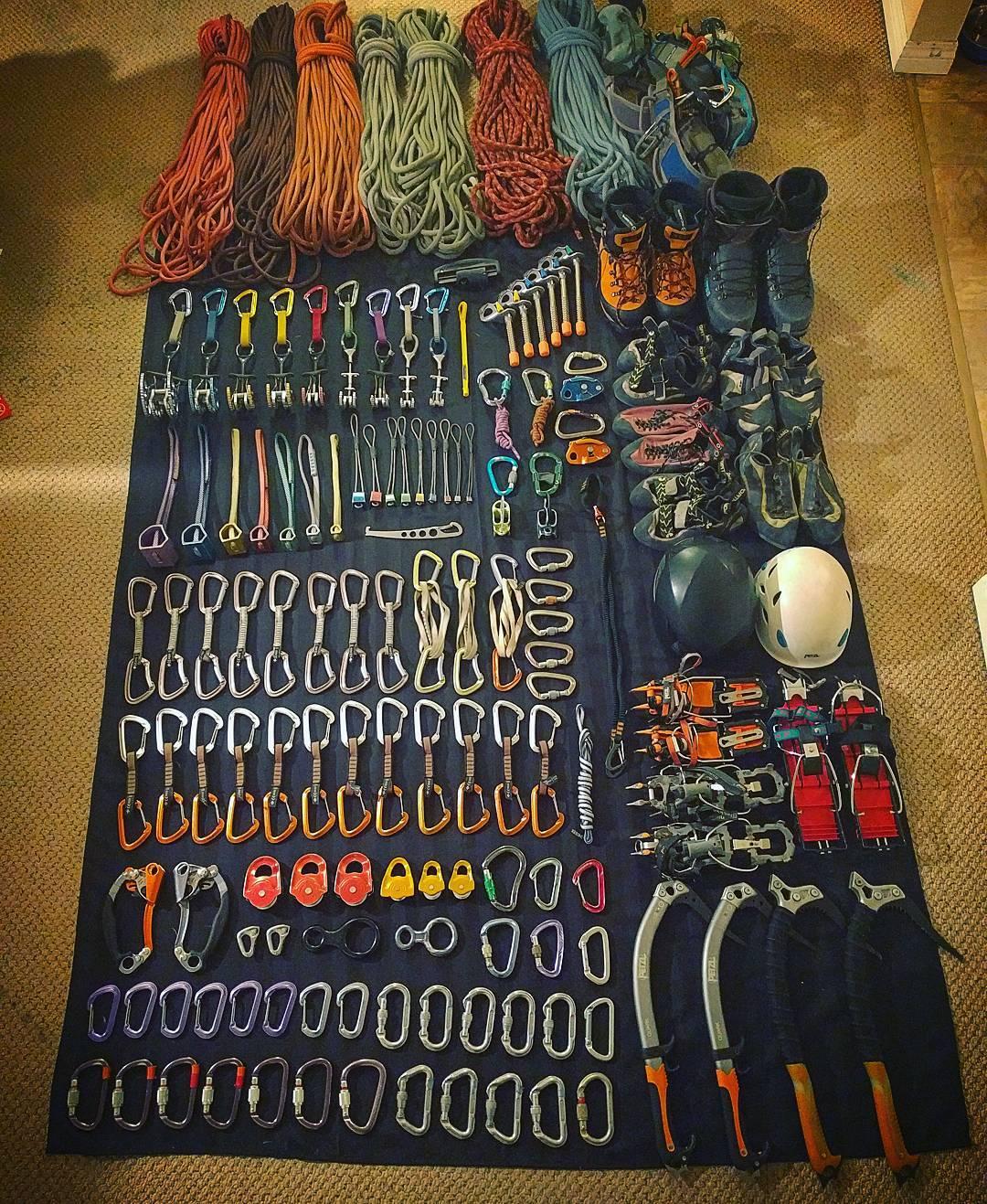 Josh F Feb 27 gear setup