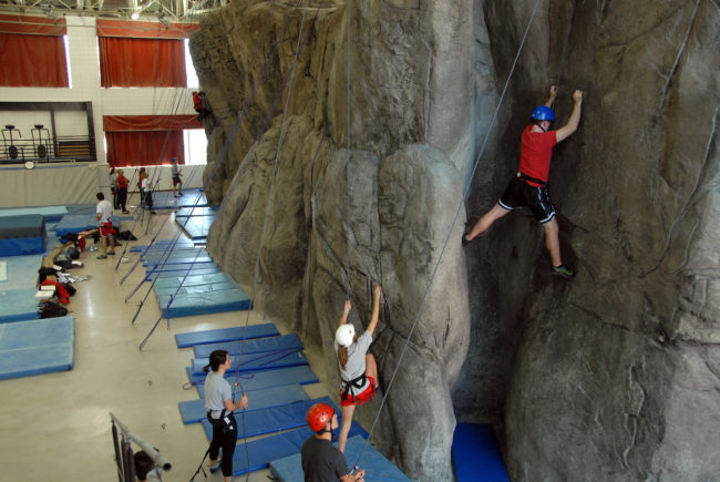 ncsu climbing wall