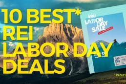REI 2018 Labor day sale
