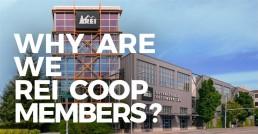 Why are we REI coop members