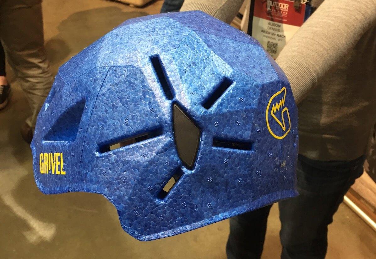 Grivel Duetto helmet back