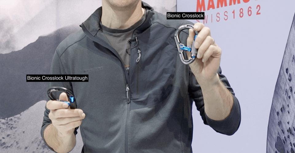Mammut Bionic cross lock