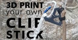 3d print a clip stick