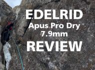 Edelrid Apus Pro Dry 7.9mm : First Hand Rope Review