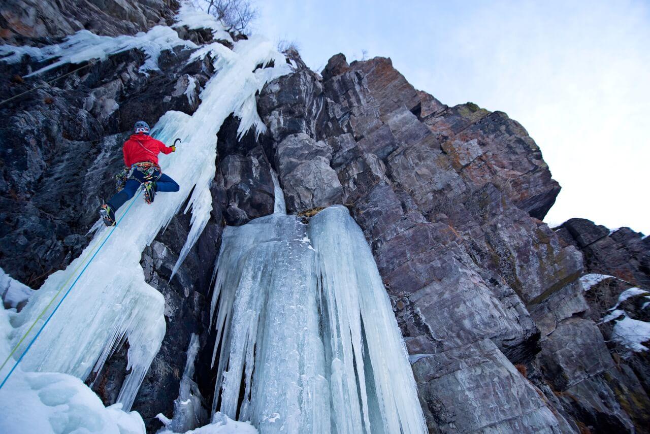 Edelrid Apus Pro rope Shapiro Finley Creek Christopher Gibisch