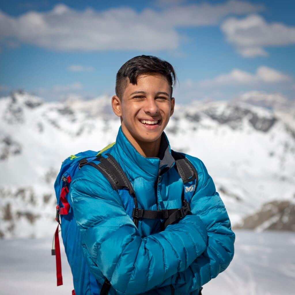 Getulio Felipe Fernandes II, climber with cerebral palsy