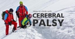 climb with cerebral palsy dolomites