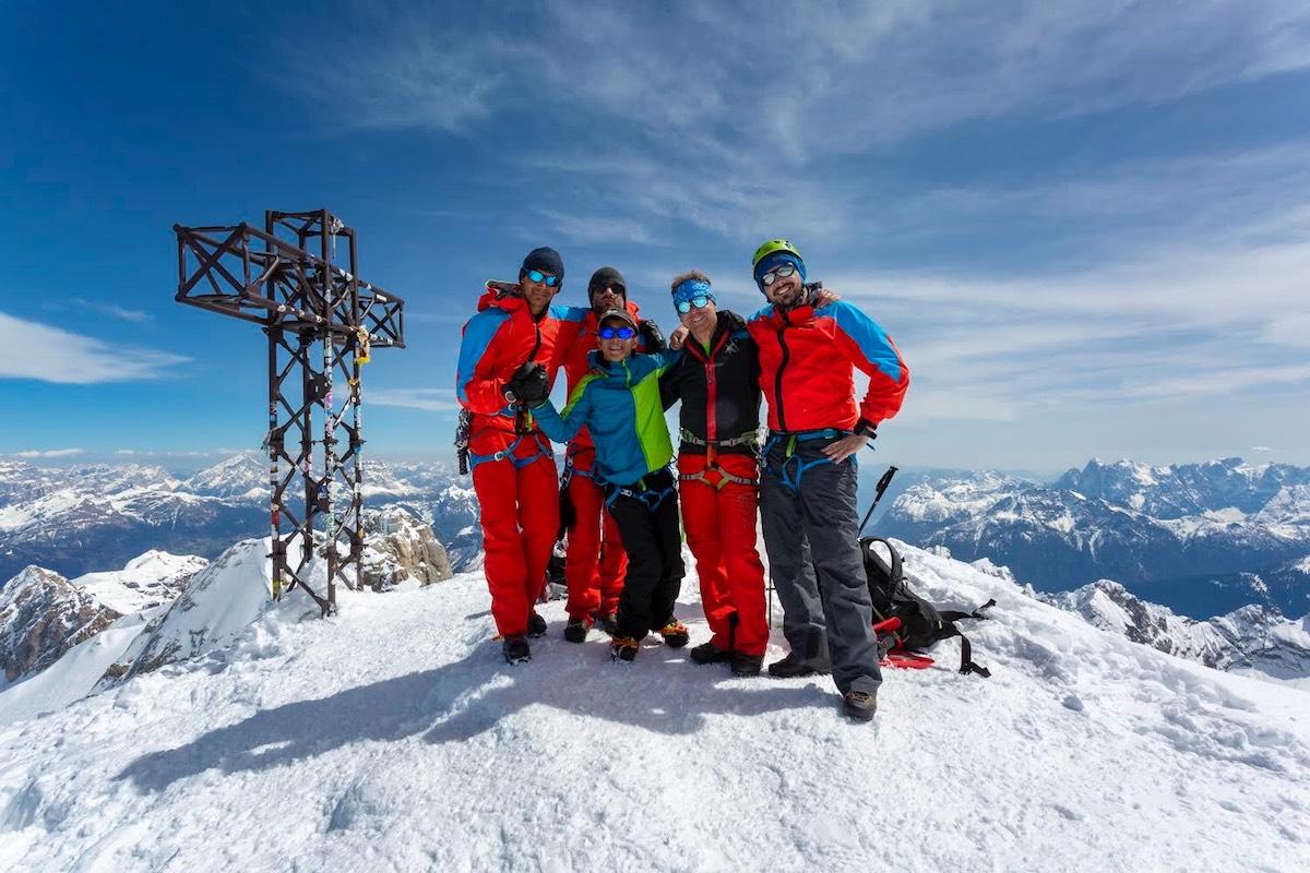 Summit of Marmolada