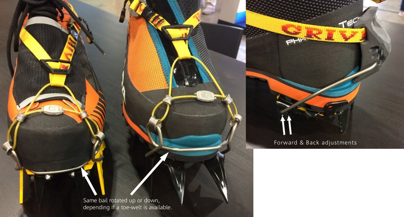 Grivel Multimatic crampon harness