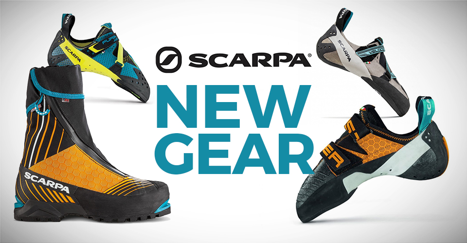 2020 Scarpa Rock Climbing Shoes Newest