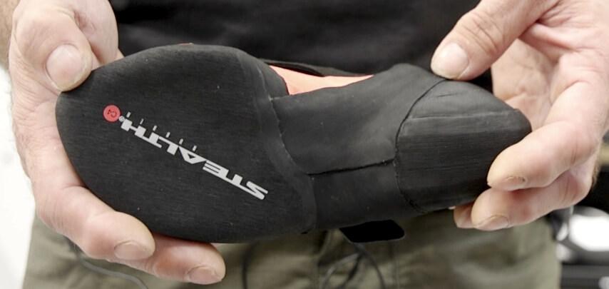 Five Ten Crawe climbing shoe - sole