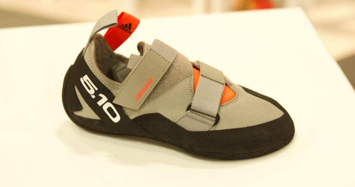 Five Ten Kirigami climbing shoe - side