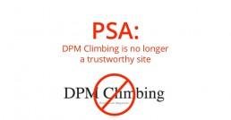 DPM Climbing is not trustworthy