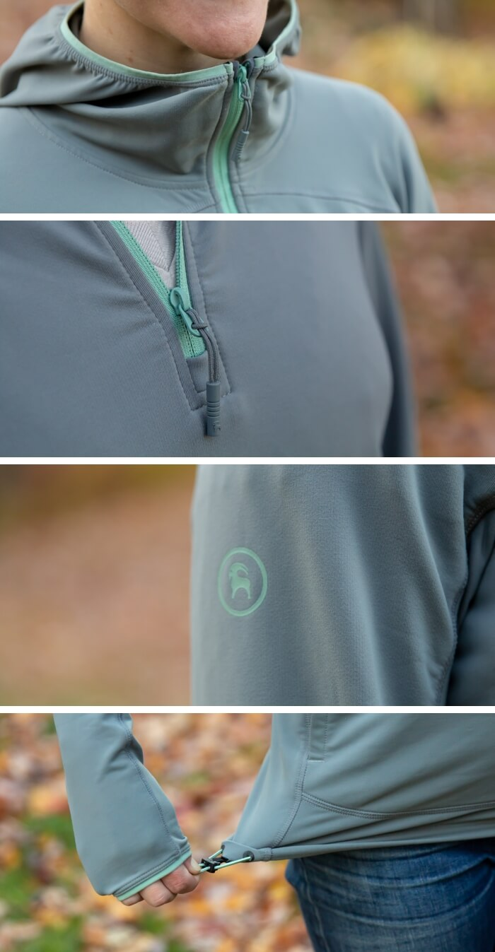 Backcountry Liquid Oxygen Hooded Pullover details
