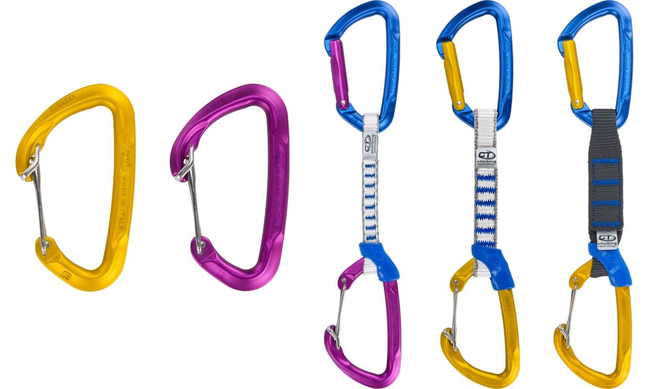Climbing Technology Berry W carabiner quickdraws