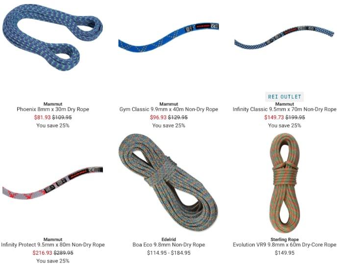 Bluesign Ropes