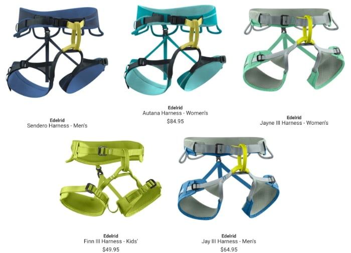 Edelrid Harnesses