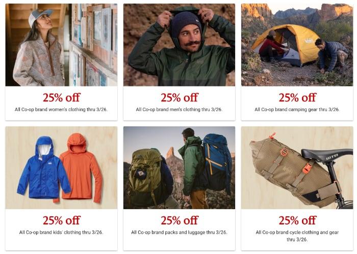 REI Brand Sales