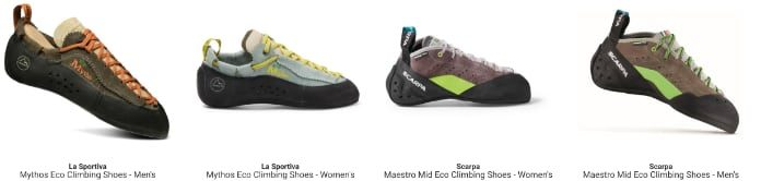 Sustainable Shoes SCARPA La Sportiva