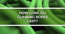 Header Lifespan of Climbing Rope