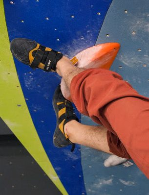 A heel toe double hook maneuver with the Anasazi Pro