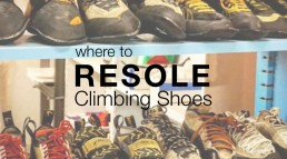 Where to resole climbing shoes header