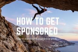 how to become a Sponsored Climber header