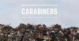 how to upcycle and recycle carabiners headr
