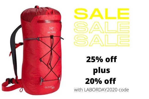 Arcteryx Alpha FL pack on sale